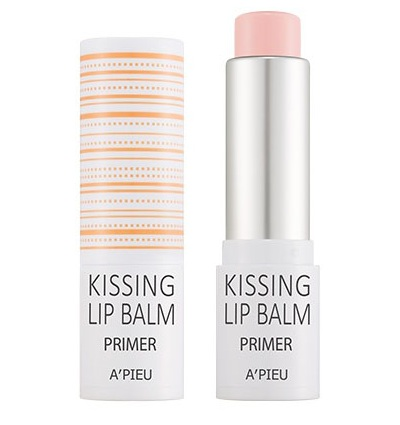 Бальзам-праймер для губ Kissing lip balm Primer, Apieu