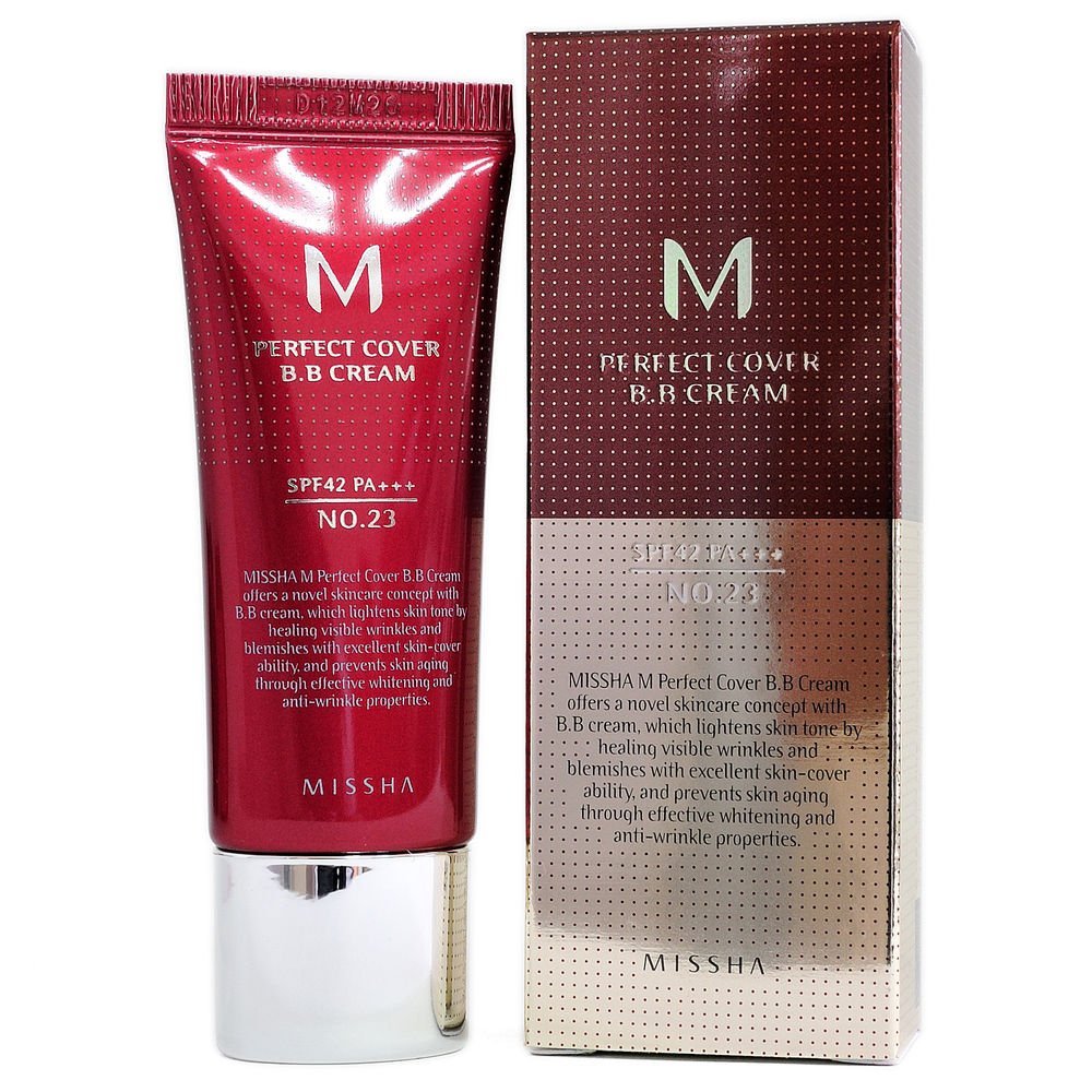 ВВ крем M Perfect Cover BB Cream SPF42 PA+++, Missha