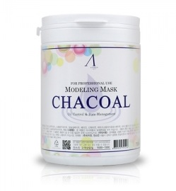 Альгинатная маска с древесным углем Charcoal Oil Control & Pore Management