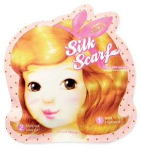 Восстанавливающая маска для волос Silk Scarf Double Care Hair Mask, Etude House