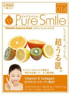 Витаминная маска для лица Vitamin Essence Mask Pure Smile
