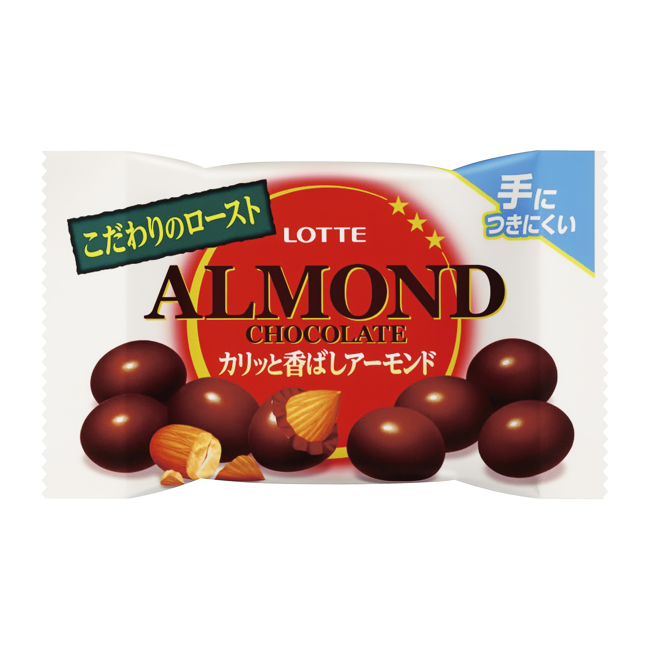 Миндаль в молочном шоколаде, Almond Chocolate Pop Joy, Lotte