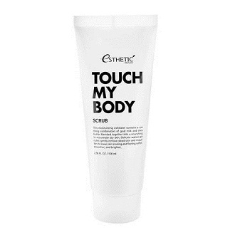 Скраб для тела c козьим молоком Touch My Body Scrub, Esthetic House