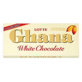 Шоколад белый Ghana white chocolate Lotte