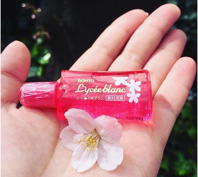 Увлажняющие капли от покраснений и усталости глаз, Lycee Blanc Rohto» —  купить в интернет-магазине Tomodachi