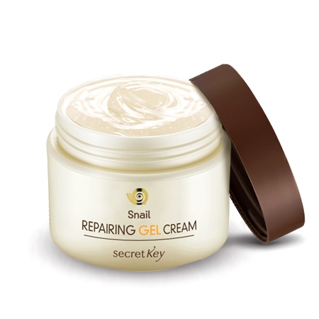 Крем-гель для лица с муцином улитки Snail Repairing Gel Cream, Secret key