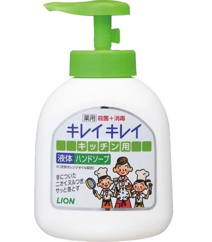 Жидкое дезодорирующее антибактериальное мыло для рук KireiKirei, LION