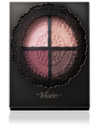 Тени для век, Glossy Rich Eyes Visee Kose