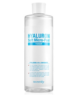 Гиалуроновый тонер Hyaluron Soft Micro-Peel Toner, Secret Key