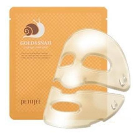 Гидрогелевая маска Gold&Snail Hydrogel Mask Pack, Petitfee